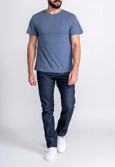 Футболка мужская короткий рукав G146-RM-6012 (джинс м.)