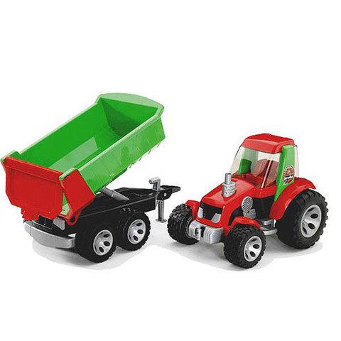 Bruder: Трактор с ковшом и прицепом ROADMAX, 20-116