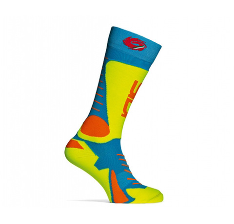 Sidi Tony Socks Light Blue Yellow Fluo