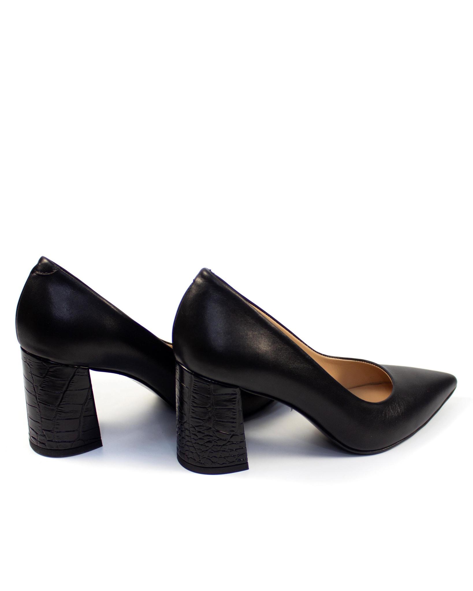 черные туфли Mario Muzi