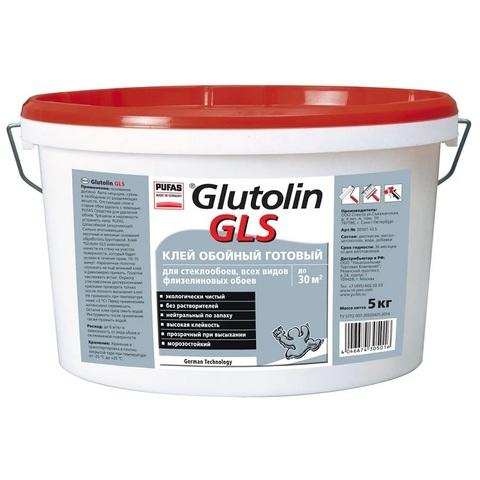 Клей готовый для стеклообоев Pufas Glutolin GLS 5 кг
