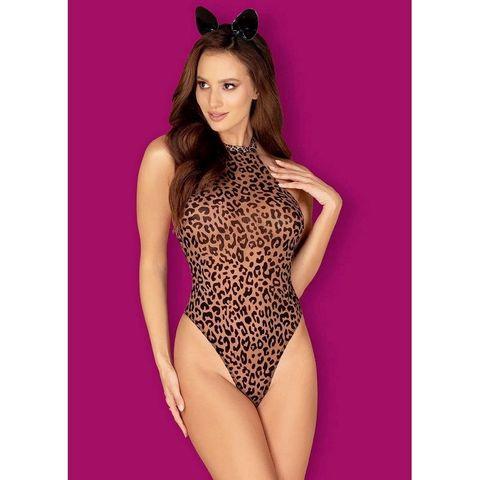 Боди леопард с ушками Leocatia