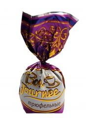 Белорусские конфеты «Bon Journee milk» трюфельные Спартак - купить с доставкой на дом по Москве и всей России