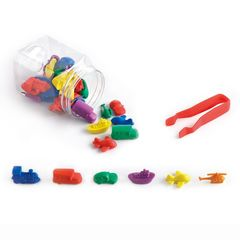 Развивающая игрушка фигурки Транспорт Edx education, арт. 13144J