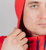 Костюм спортивный Nordski Zip Hood Cuffed Red-Black мужской