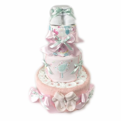 Торт из подгузников