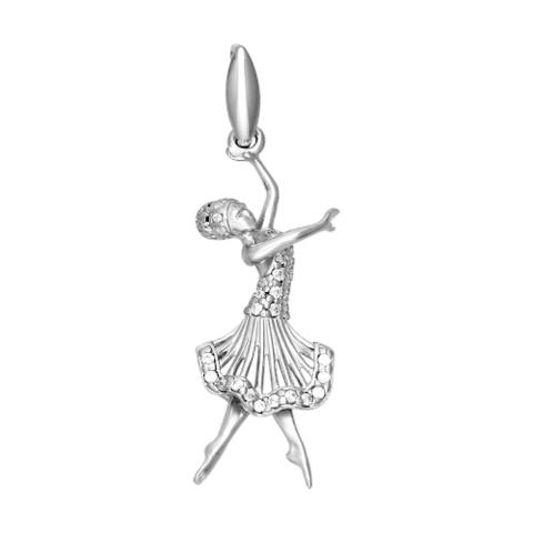 94031156- Серебряная подвеска «Балерина»