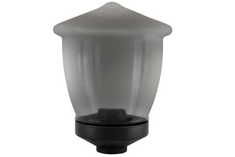 Светильник НТУ 05-100-412 Ливерпуль IP54 (дымч. ПММА, основание 145, Е27) TDM