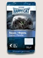 Лакомство для кошек Happy Cat с лососем