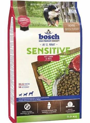 Сухой корм для собак Bosch Sensitive, при чувствительном пищеварении, ягненок 15 кг
