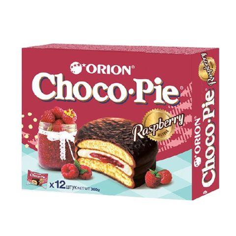 Бисквит ORION Choco-Pie Малина 360 г РОССИЯ