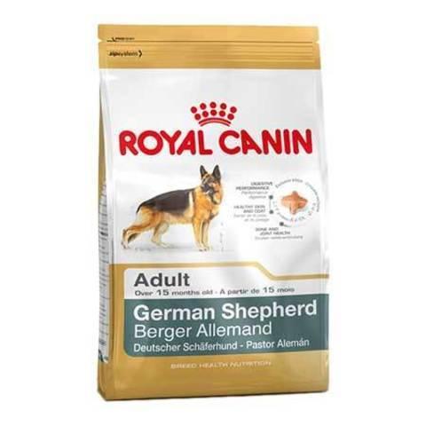 16 кг. ROYAL CANIN Сухой корм для взрослых собак породы немецкая овчарка German Shepherd 24 Adult