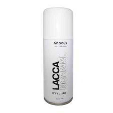 Лак аэрозольный для волос нормальной фиксации «Lacca Normal» 100 мл