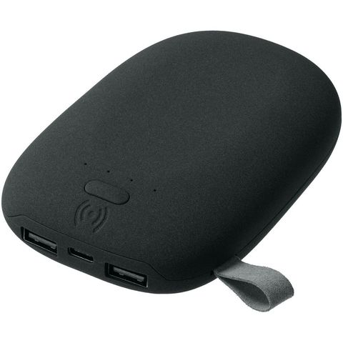 Stone Wireless Power Bank 9000 mAh, black