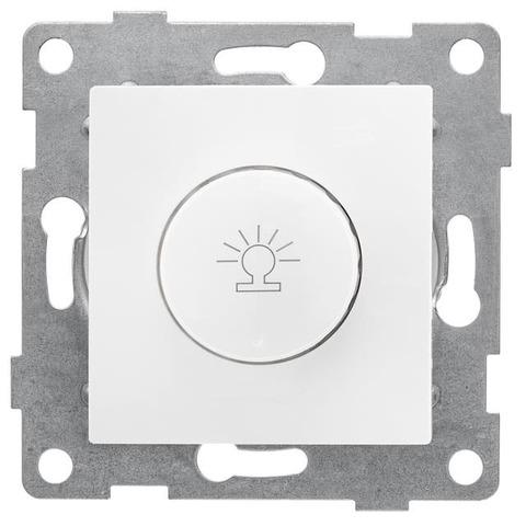 Светорегулятор/диммер поворотный 500 W 220/250 В~. Цвет Белый. Bravo GUSI Electric. С10Д6-001