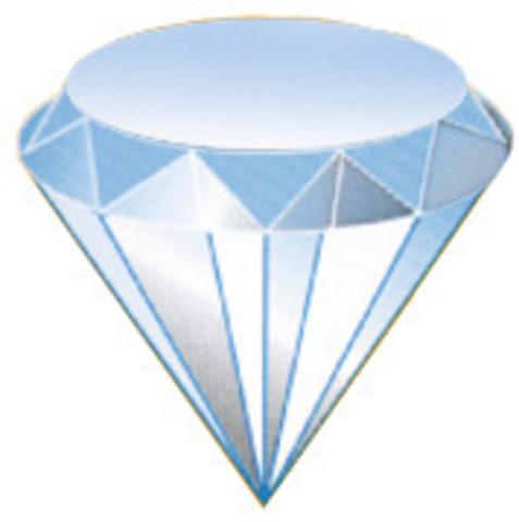 Алмазные надфили, набор, 5 предметов, 215 мм зерно D 126