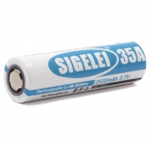18650 Sigelei 35A 2500 мАч