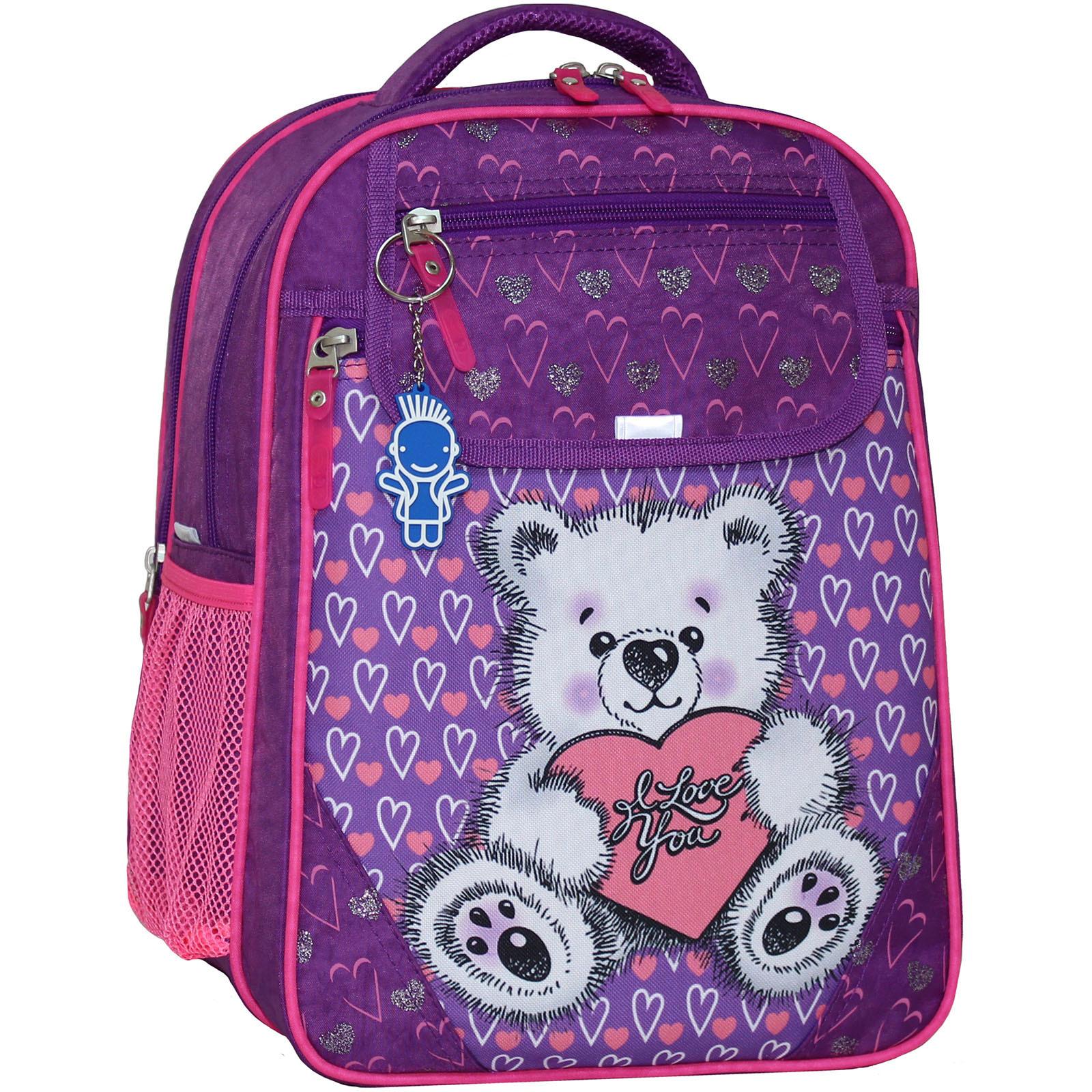 Школьные рюкзаки Рюкзак школьный Bagland Отличник 20 л. 339 фиолетовый 377 (0058070) IMG_5768_377_.JPG
