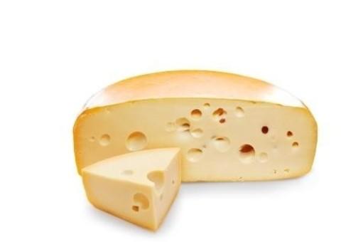 Сыр полутвердый Альпиталер Маасдам м.д.ж. в с.в. 45% 8-11,5кг  ЭКО ВИЛЛАДЖ СЫРЫ 1кг