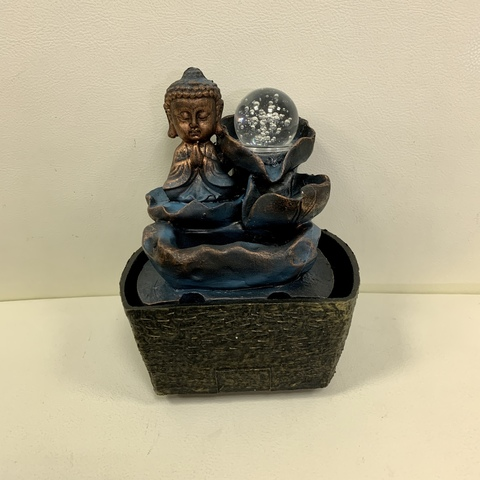 Фонтан настольный от сети Маленький Будда Zen