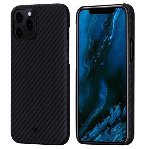 Чехол Pitaka MagEZ Case для Apple iPhone 12 Pro Max (Black/Gray Twill)