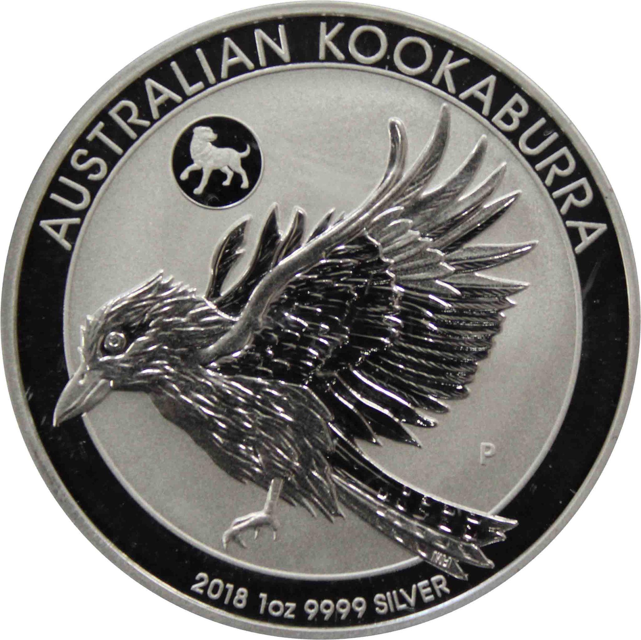 "1 доллар. Кукабарра прайви марк Собака"" Австралия. 2018 год"