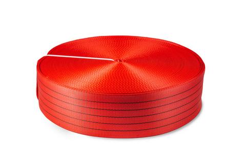 Лента текстильная TOR 6:1 150 мм 17500 кг (красный), 100м