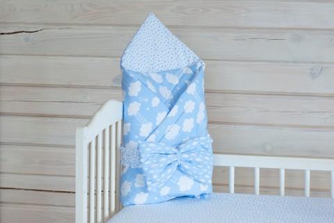 Конверт-одеяло на выписку 90*120 см