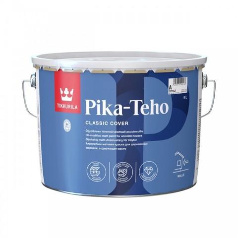Tikkurila Pika Teho / Тиккурила Пика Техо акрилатная краска для заборов и деревянных фасадов