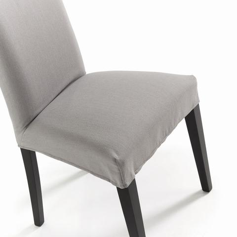 Стул Freia светло-серый ножки черные