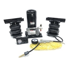 Ford Transit (задний привод односкат) пневмоподвеска задней оси + система управления 2 контур (ресивер)