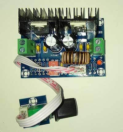 Модуль RP075. Преобразователь DC-DC понижающий с выносным регулятором