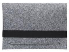 Светлый войлочный чехол Gmakin для Macbook горизонтальный