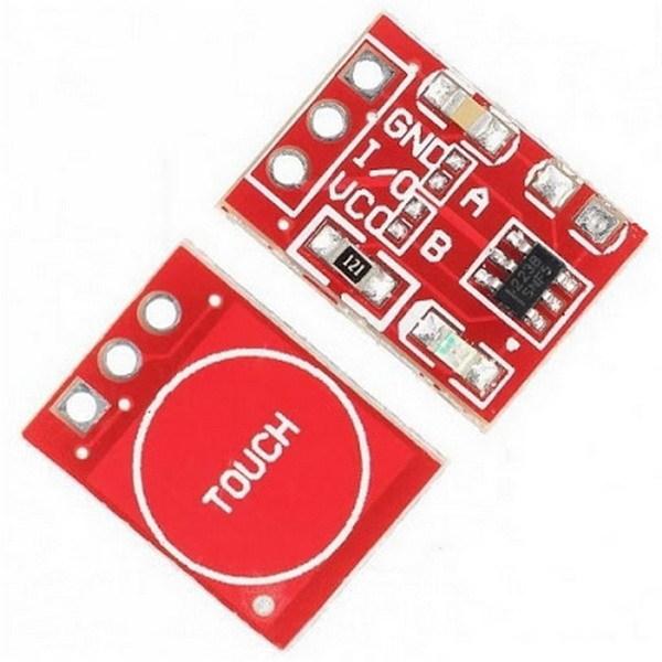 Емкостной сенсорный модуль (TTP223)