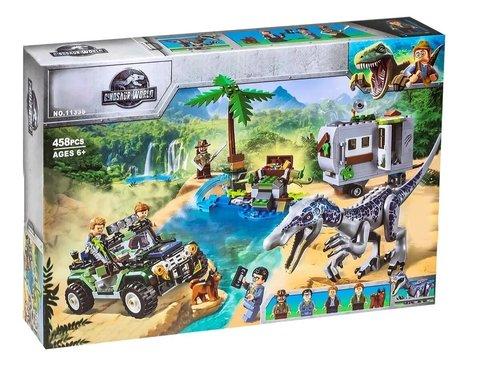 Конструктор Dinosaur World 11335 Поединок с бариониксом: охота за сокровищами