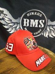Бейсболка Original Moto GP - Marquez, красный
