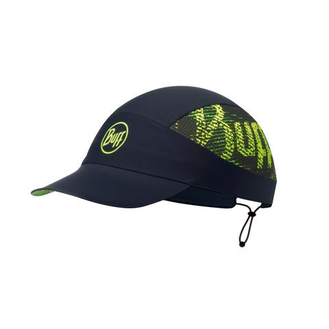 Спортивная кепка для бега Buff R-Flash Logo Black фото 1