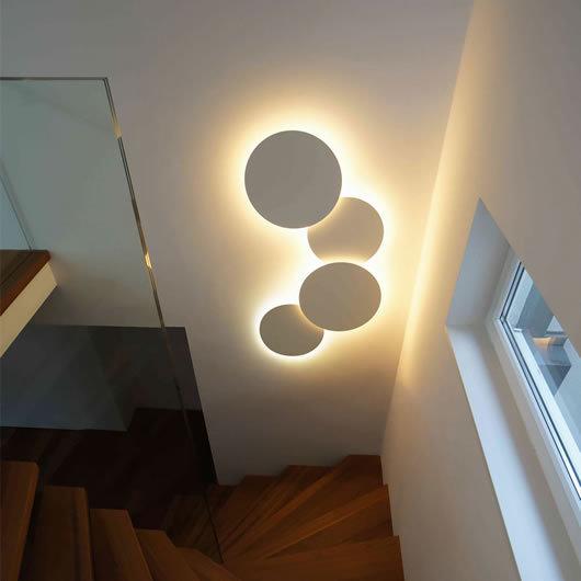 Настенный светильник Puck by Vibia (2 плафона)