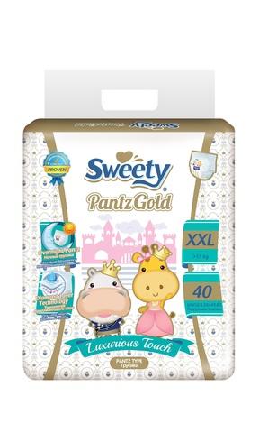 Трусики Sweety Pantz Gold XXL40 (17-25кг)