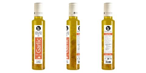 Оливковое масло с чесноком Delicious Crete 250 мл