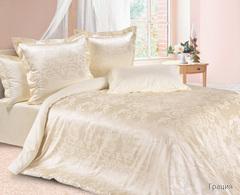 Жаккардовое постельное бельё семейное   Грация