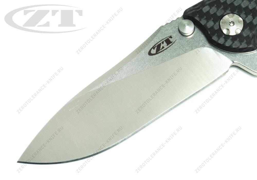 Нож Zero Tolerance 0562CF 20CV Hinderer - фотография