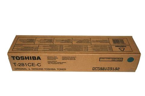 Оригинальный тонер-картридж Toshiba T-281C-EC 6AK00000046/6AG00000845 голубой