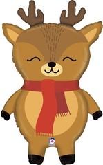 Г Фигура, Маленький олень, Коричневый в красном шарфике,  29