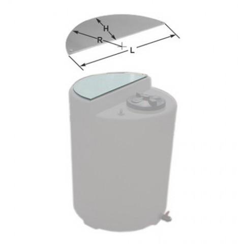 Суппорт (пластина) для TANK 230L, полипропилен 20 мм /1ACS056 Etatron D.S. (Италия)