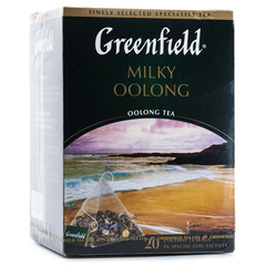 "Чай ""Greenfield"" Milky Oolong 20 пирамидок"