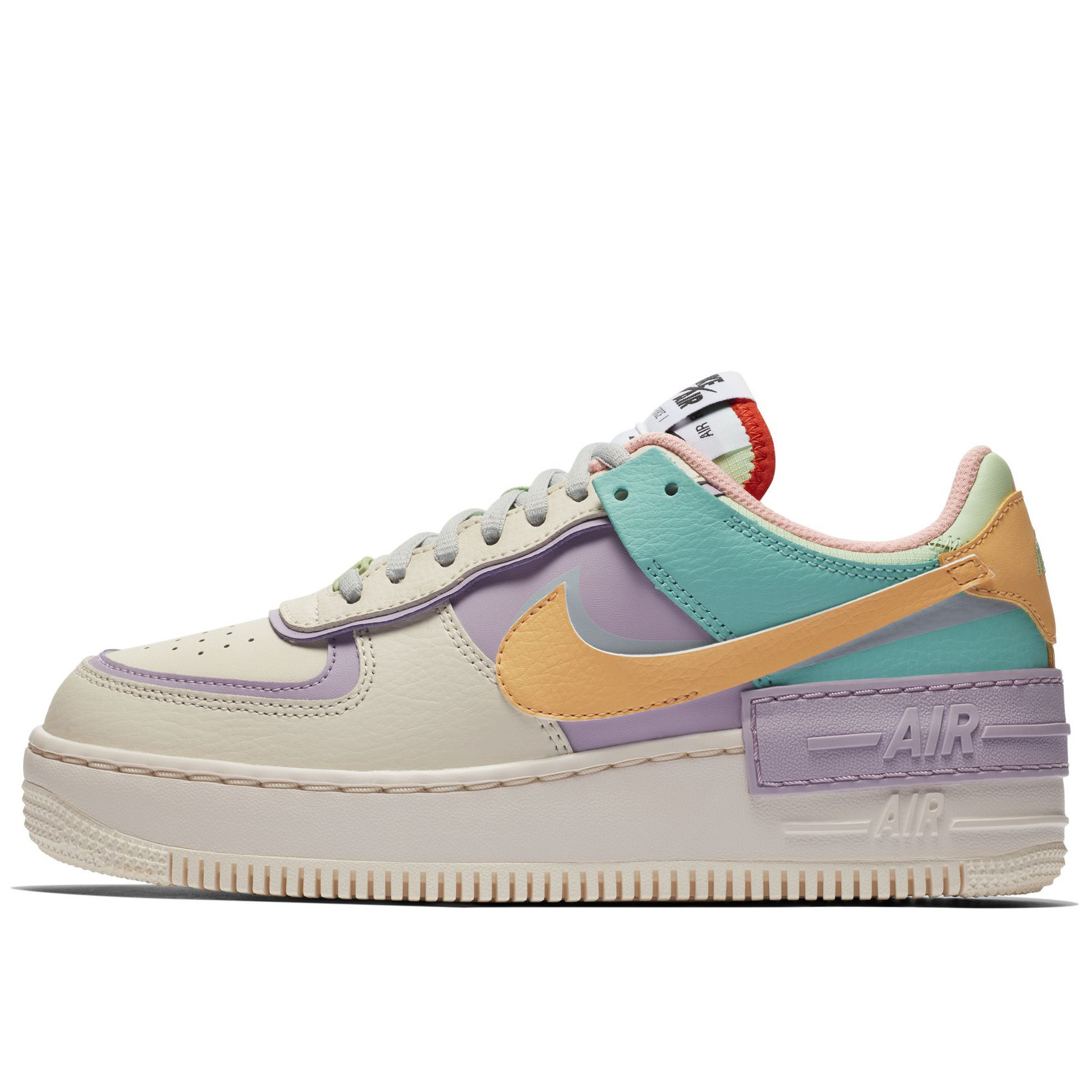 Nike Air Force 1 Shadow Purple/Gold/Yellow