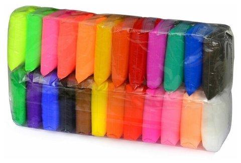 Воздушный пластилин ( 24 цвета )