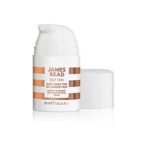 JAMES READ | Ночная маска для лица уход и загар темная, (50 мл)