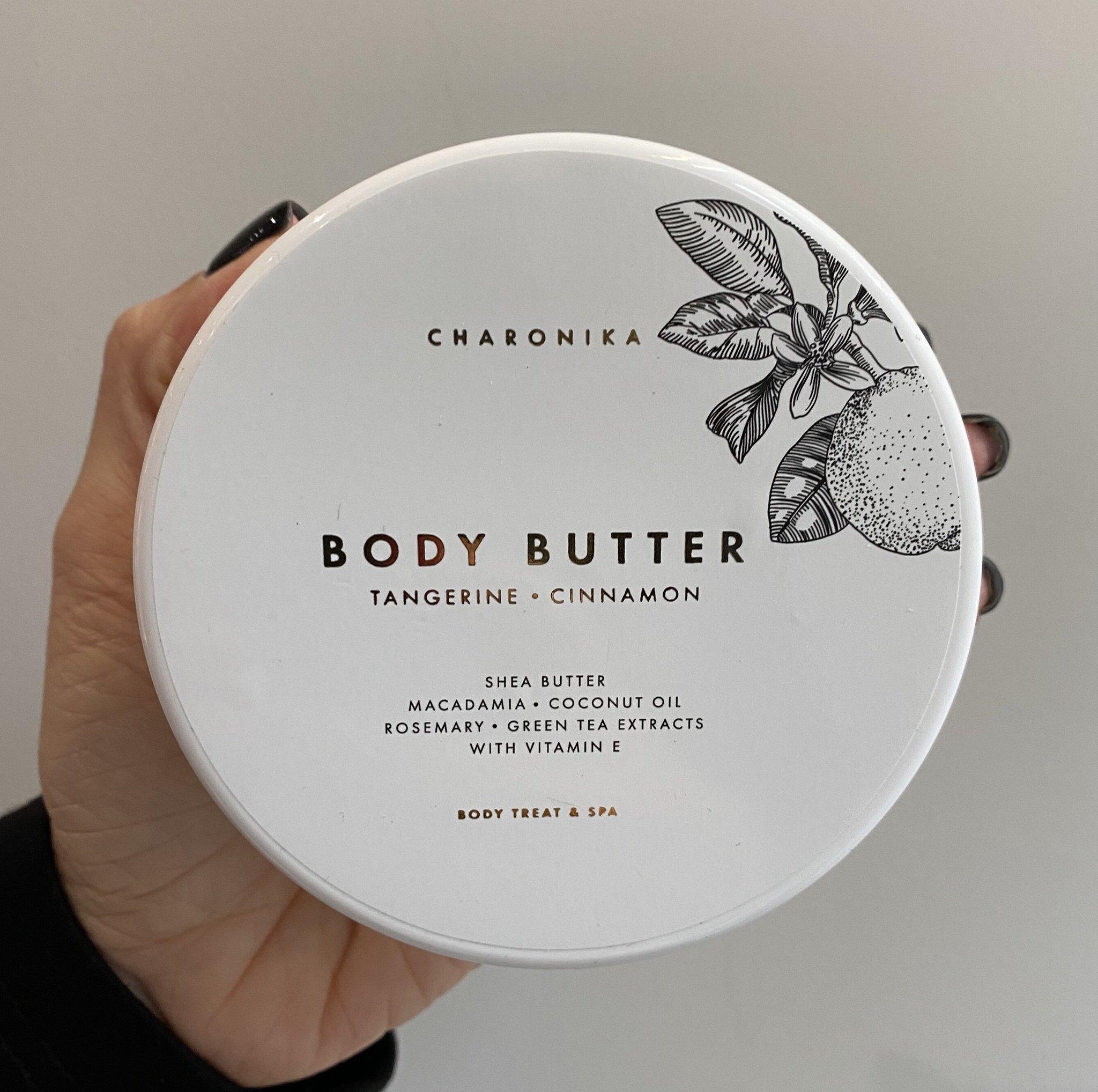Body butter tangerine/cinnamon